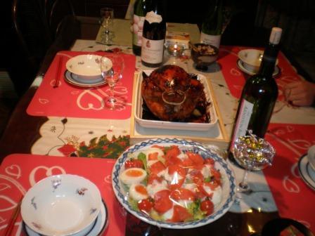 クリスマスのお料理