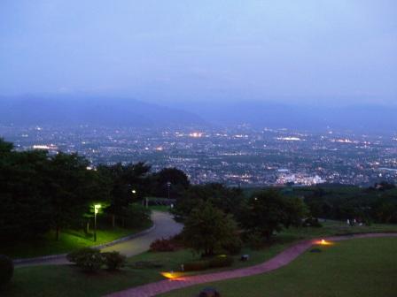 ピアテラスからの夜景