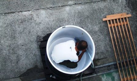 タンク洗い