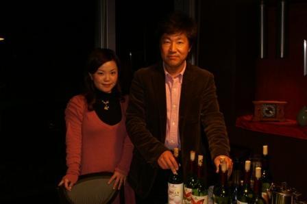 富士Calmワイン会